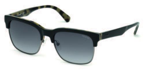 Gafas de sol cuadradas negras  de la colección de Guess SS18