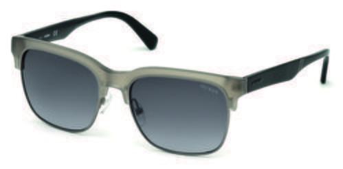 Gafas de sol cuadradas grises de la colección de Guess SS18