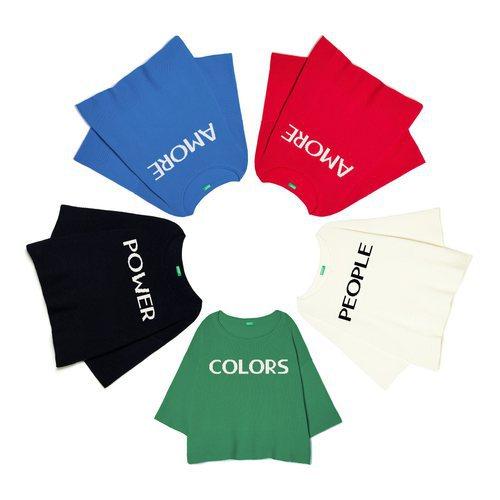 Conjunto de camisetas de United Colors Of Benetton de la colección para primavera/verano 2018