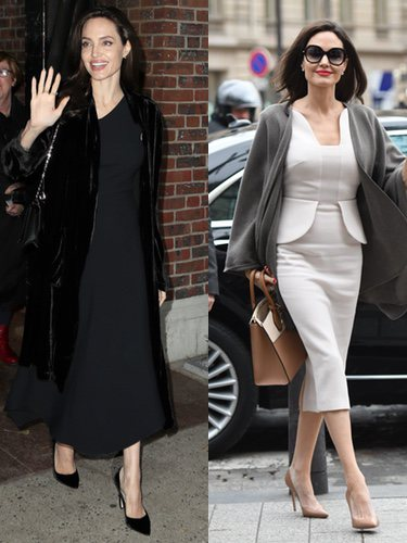 Street Style de Angelina Jolie
