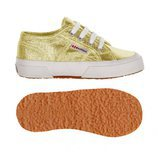 Zapatillas en color dorado de Superga Kids para la temporada primavera/verano 2018