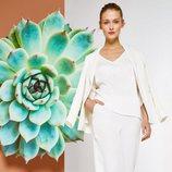 Conjunto de prendas blancas de la colección primavera/verano 2018 de Trucco