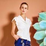 Pantalón print floral con camisa de la colección primavera/verano 2018 de Trucco