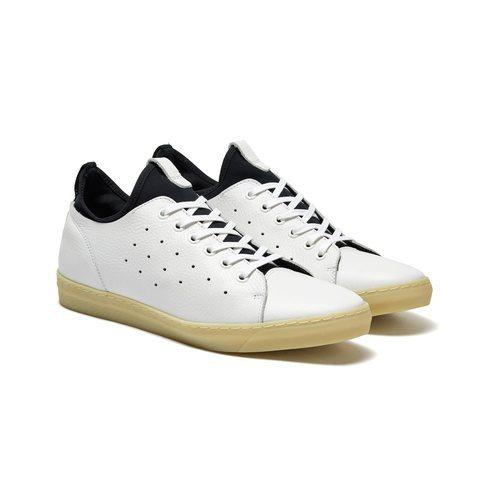 Zapatillas blancas de deporte para hombre de la Nueva Colección SS 2018 de Sisley