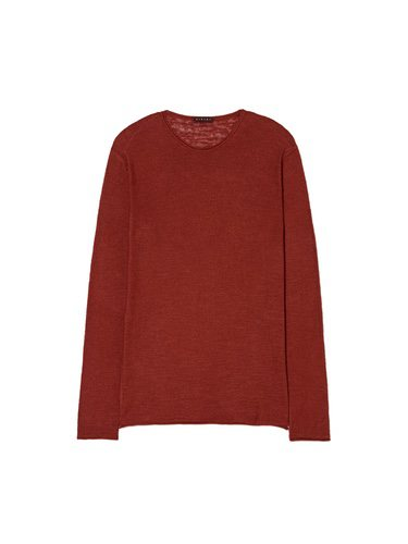 Jersey rojo para hombre de la Nueva Colección SS 2018 de Sisley