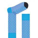 Calcetines para hombre en color azul de la Nueva Colección de Happy socks 2018