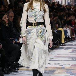 Desfile de Dior otoño/invierno 2018/2019 en la Paris Fashion Week