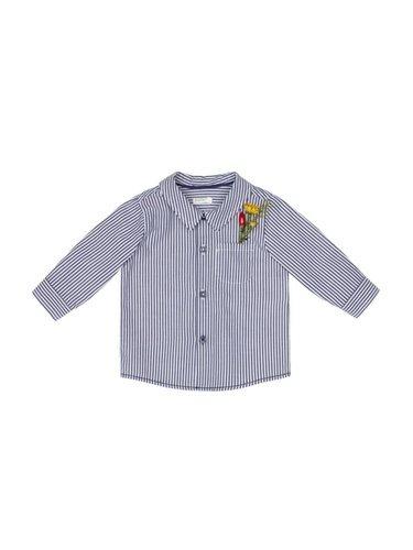 Camisa para niño de rayas de la nueva colección de primavera de Benetton 2018