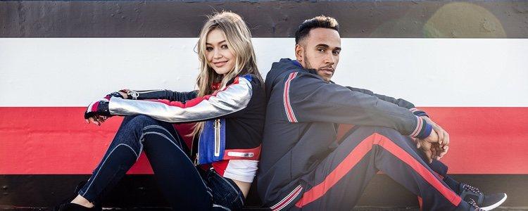 Gigi Hadid y Lewis Hamilton, embajadores globales de Tommy Hilfiger