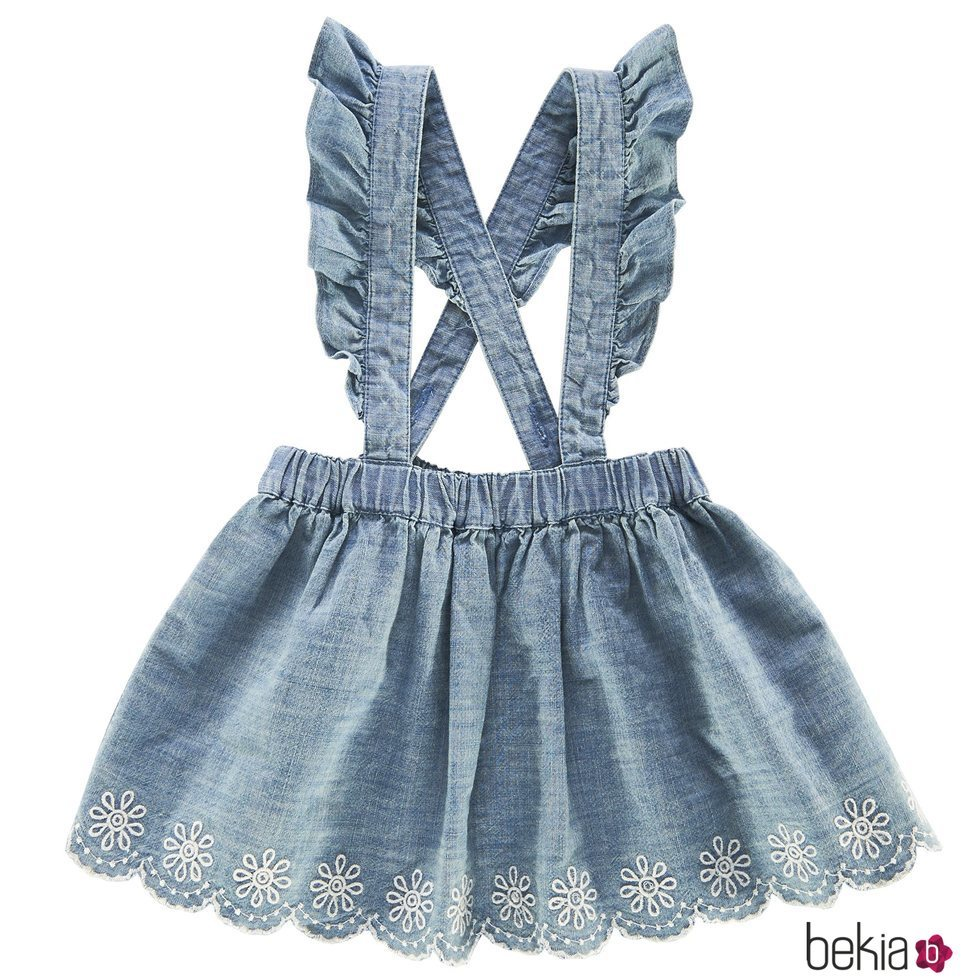 0d0fef343 Anterior Pichi denim de bebe niña de la nueva colección primavera verano  2018 de Chicco