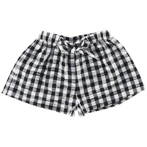Pantalón corto de cuadros vichy de bebe niña de la nueva colección primavera/verano 2018 de Chicco
