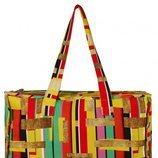 Bolso grande con estampado de rectángulos de colores de la nueva colección de Asos Madre in Kenia 2018