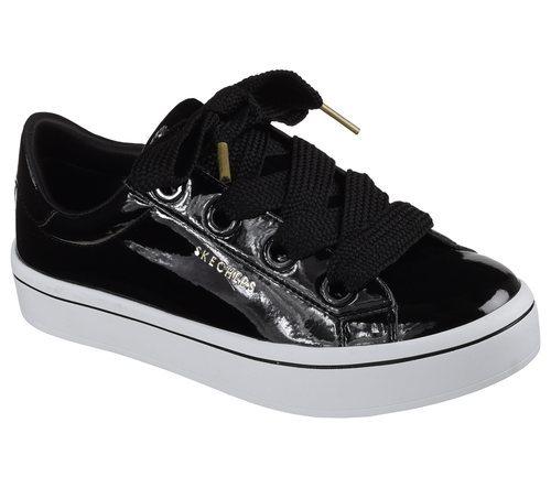 Zapatillas de charol negras de Skechers Street 2018