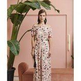 Vestido largo vaporoso de la nueva colección primavera/verano 2018 de Dolores Promesas