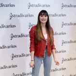 Aitana con un total look de Stradivarius en su presentación como embajadora de la marca