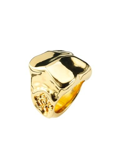 Anillo Top Secret de la línea 'Gold Collection' 2018 de UNOde50