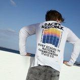 Camiseta de manga larga de la colección 'Pacific Republic' de Pull&Bear