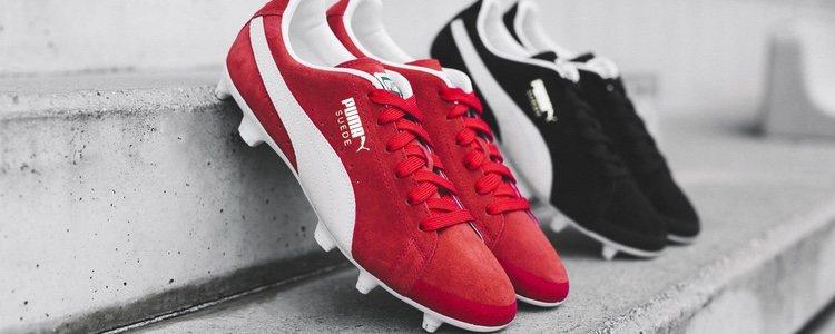 Botas de fútbol de la nueva colección 'Future Suede' de Puma
