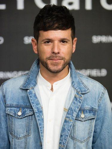 Pablo López con un total look de Springfield en la presentación de la nueva colección