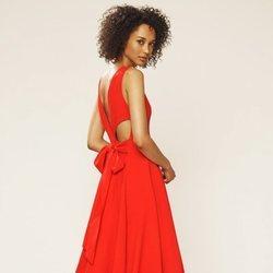 Vestido con aperturas de la colección novia primavera 2018 de Sarah Jessica Parker
