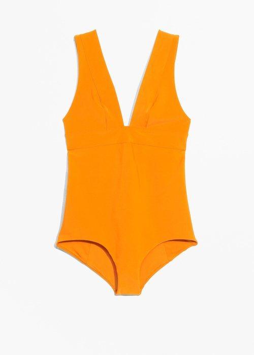 Bañador naranja de la nueva colección de la firma & Other Stories 2018