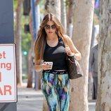 Sofía Vergara se apunta a la tendencia de los leggings estampados