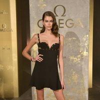 Kaia Gerber en la fiesta de Omega presentado su nueva línea 'Tresor'