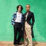 Imagen de la campaña de Burberry otoño/inverno 2018-2019 con Adwoa Aboah