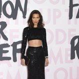 El conjunto de lentejuelas que Bella Hadid lució en la gala benéfica 'Fashion For Relief'