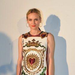 El traje de lentejuelas Dolce&Gabbana de Diane Kruger en la cena de Dior