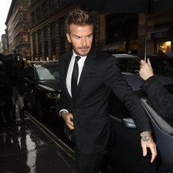 David Beckham es el nuevo presidente embajador de la moda británica