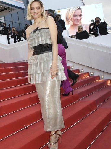 Marion Cotillard opta por un vintage Chanel Alta Costura para el Festival de Cannes