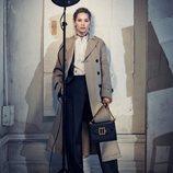 Jennifer Lawrence con un conjunto casual de la nueva colección de Dior 2018