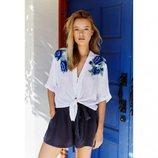 Camisa de lino blanca de la nueva colección primavera/verano 2018 de Rails