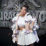 Noa Kirel con un look extravagante en la premiere de Jurassic World 2018