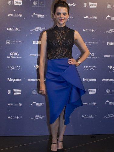 Macarena Gómez posa en los Premios Fugaz 2018