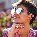 Gafas de sol con cristal de espejo de la nueva colección 2018 de D.Franklin