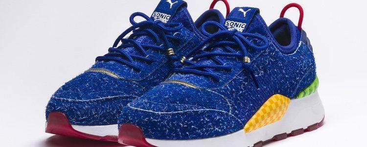 Parte delantera de las nuevas zapatillas Puma RS-0 Sonic 2018