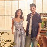Macarena García y Pablo López en la campaña primavera/verano 2018 de Springfield