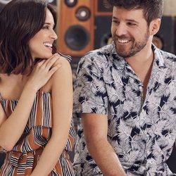 Macarena García y Pablo López protagonizan en lookbook primavera/verano 2018 de Springfield