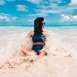 Bikini azul de la colección 'Sweet Summer' 2018 de Dulceida