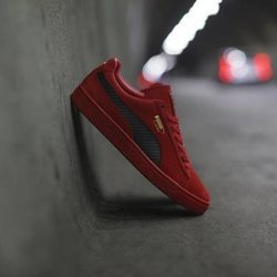 Puma y Ferari crean las nuevas zapatillas SF Suede 50  2018