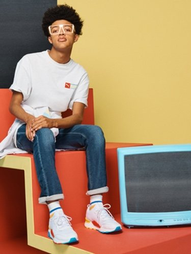 Las zapatillas 'RS-0' de Puma se inspiran en los videojuegos de los años 80