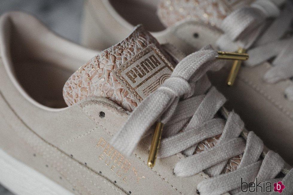 Detalle del relieve de la nueva zapatilla 'Suede' #ForAllTime