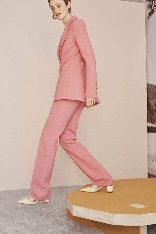 Traje de chaqueta de la colección Crucero 2019 de Carolina Herrera