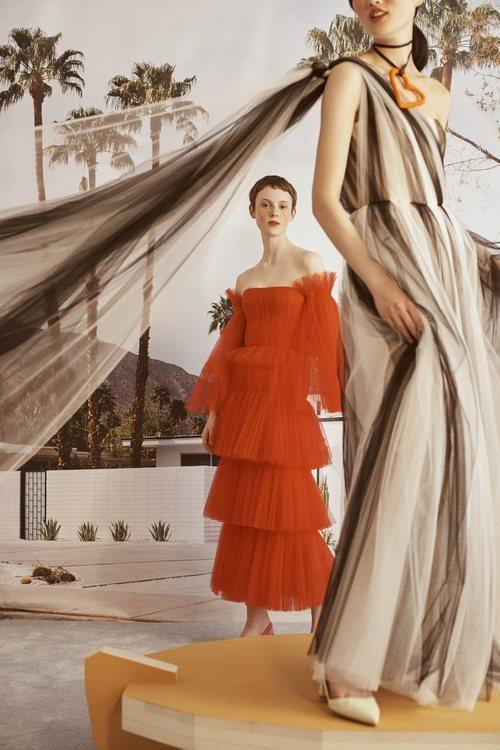 Vestidos de la colección Crucero 2019 de Carolina Herrera