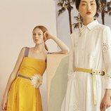 Vestidos con detalles de la colección Crucero 2019 de Carolina Herrera