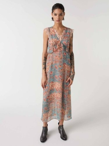 Vestido de la nueva colección primavera/verano 2018 de Sisley