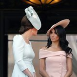Meghan Markle vestida de Carolina Herrera en el Trooping The Colour 2018