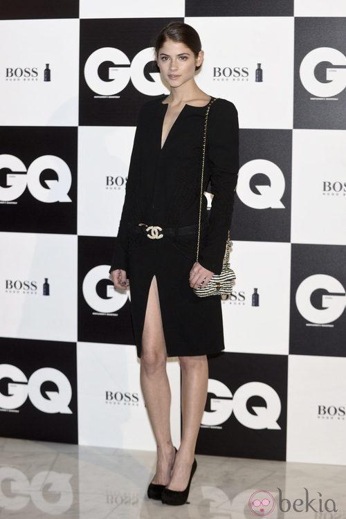 Alba Larroche en los premios GQ Hombres del Año 2011